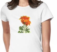 Glorious Marigolds Womens Fitted T-Shirt