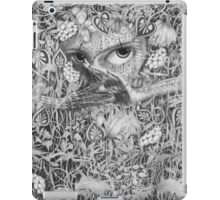 Heliotroped with Tattoo and Guest Poet iPad Case/Skin