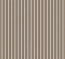 Taupe Striped Leggings by Doreen Erhardt