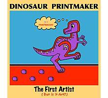 Dinosaur Printmaker Photographic Print
