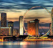 Singapore Cityscape by Jason Pang, FAPS FADPA