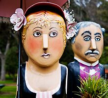 Botanic Bollards by Wendy Roscoe