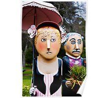 Botanic Bollards Poster