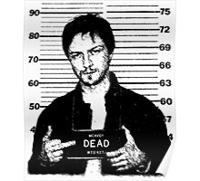 Wanted: McAvoy Poster