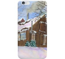 Great Hills Maple Sugar House iPhone Case/Skin
