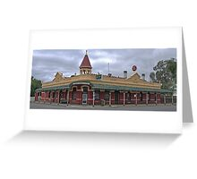 Court House Hotel - Nathalia  Greeting Card