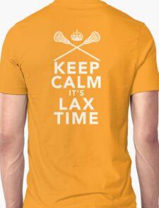 KEEP CALM - LAX TIME Unisex T-Shirt