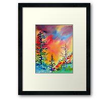 LIttle Cottonwood Canyon, Salt Lake City Framed Print