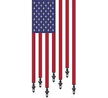 United States of Airstrikes Photographic Print