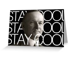 Stay Cool with Coolidge! Greeting Card
