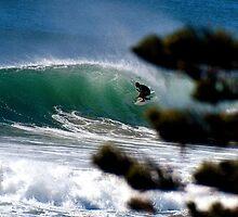 Pine Tube, North Steyne, Manly, Tasman Sea. by Bill  Russo
