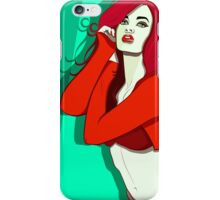 The Red Alert!  iPhone Case/Skin