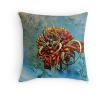 Extraterrestrial species file Q1450938j-1 Throw Pillow
