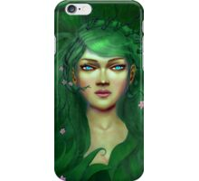 Green Nature Fairy iPhone Case/Skin