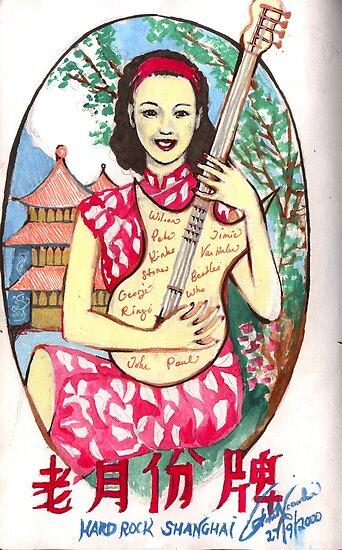 Hard Rock Shanghai ( 2000 ) by John Dicandia  ( JinnDoW )