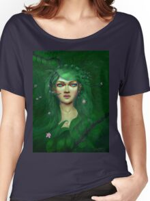Green Nature Fairy Women's Relaxed Fit T-Shirt
