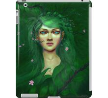 Green Nature Fairy iPad Case/Skin