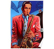 The Saxofonist Poster