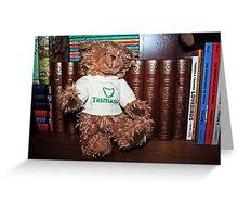 Tasmanian Bear Greeting Card