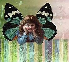 My vintage butterfly by Donna Ingham