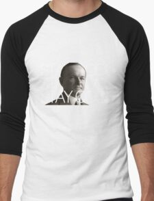 Stay Cool with Coolidge! Men's Baseball ¾ T-Shirt