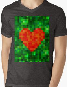 I Love Every Pixel of You Mens V-Neck T-Shirt