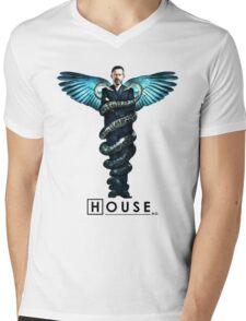 House MD T-Shirt Mens V-Neck T-Shirt