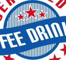 Coffee Drinker Sticker