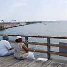 two fishers on the dock by angiebabie11290