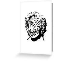MARILYN MONROE [WHITE] Greeting Card