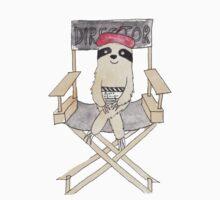 Movie Director Sloth Kids Tee