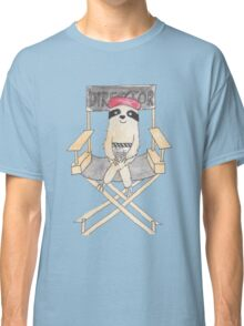 Movie Director Sloth Classic T-Shirt