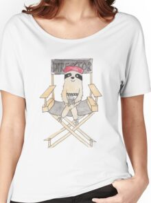Movie Director Sloth Women's Relaxed Fit T-Shirt