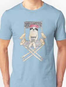 Movie Director Sloth Unisex T-Shirt