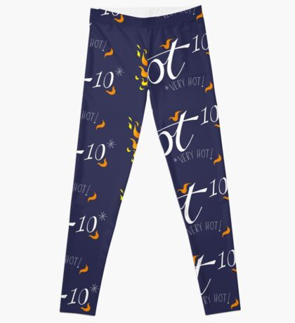 Hot to the power of 10 Leggings