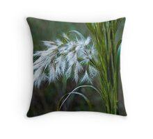 Broom Sage Throw Pillow