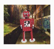 Red Robot Kids Tee