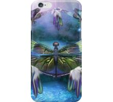 Dream Catcher - Spirit Of The Dragonfly iPhone Case/Skin