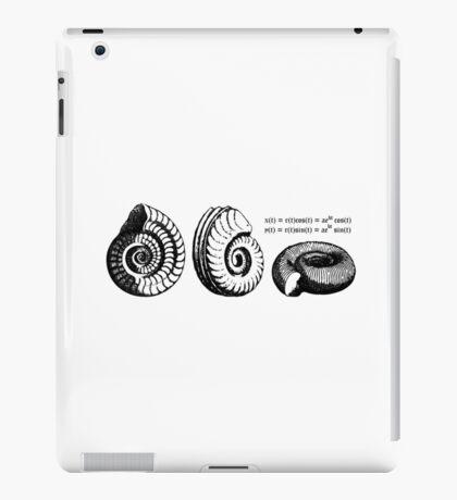 Math Spiral Shells iPad Case/Skin