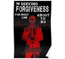 Daredevil Forgiveness Poster