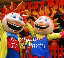 Party Invitation by Eve Parry