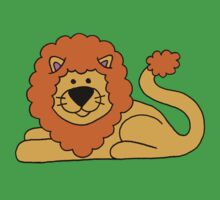 Cuddly Lion Baby Tee