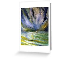 STORM ARRIVED Greeting Card