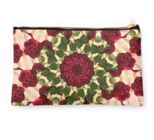 Old Red Rose Kaleidoscope 10 Studio Pouch