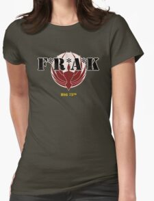 F*R*A*K Outlined Womens Fitted T-Shirt