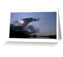 Cloud Flare Greeting Card