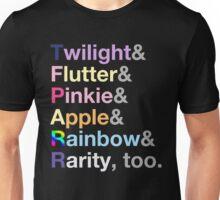 Ponies. Unisex T-Shirt