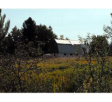 A Small Town Country Scene Photographic Print