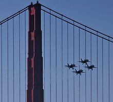 Angels at the Golden Gate by MattGranz