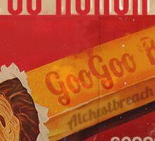 GooGoo Bars! Sticker